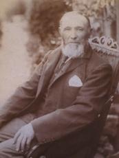 Henry Petts (reputed) 1841-1918 market gardener of Milton Keynes. Henry Petts (reputed) 1841-1918, market gardener of Milton Keynes © Adèle Emm