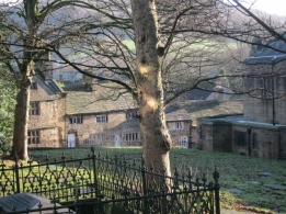 graveyard of All Saints Parish church, Glossop